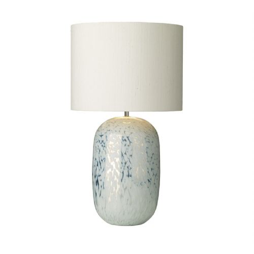 Pura Table Lamp White Mirrored Effect Base Only (Hand made, 7-10 day Delivery)